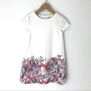 Zara Girls 100% Cotton Floral Dress